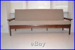 Stunning Vintage Danish Teak Sofa Settee