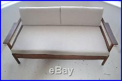 Stunning Vintage Teak Guy Rogers Sofa Bed Settee