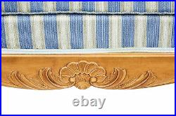 Swedish Late 19th Century Century Carved Birch Sofa