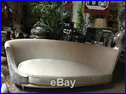 Teardrop Curved Sofa Federico Munari Mid Century Modern Vintage Italy