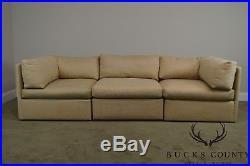 Thayer Coggin Mid Century Modern Style 3 Piece Sectional Sofa