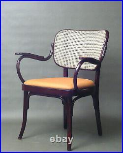 Thonet Sessel A 283 Prof. A. G. Schneck 1931 Leder