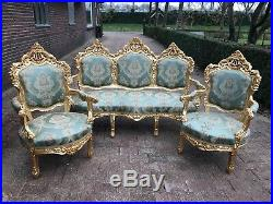 Two Unique Chairs in Baroque Style