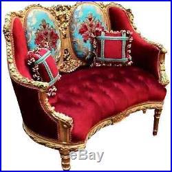Unique 19th Century Sofa/loveseat/couch/settee