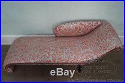 Unusual Custom Regency Directoire Style Chaise Lounge