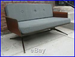 Enjoyable Viko Baumritter Mid Century Modern Loveseat Vintage Atomic Machost Co Dining Chair Design Ideas Machostcouk