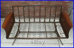VIKO BAUMRITTER MID CENTURY MODERN LOVESEAT vintage atomic sofa herman miller