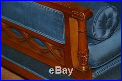 VINTAGE 60's 3 PIECE SECTIONAL FRENCH PROVINCIAL Living Room COUCH FURNITURE SET