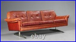 VINTAGE DANISH MID CENTURY SVEND SKIPPER 3 PERSON SOFA 1960, s
