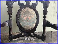 Victorian Era Antique Parlor Set