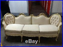 Victorian Sofa-1970s Antique