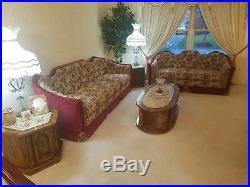 Victorian Vintage/Antique Furniture Living room set CUSTOM (1 OF A KIND)