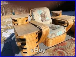Vin. Mid Century Paul Frankl Living Room Furniture LOT