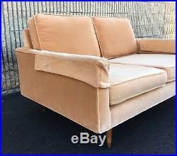 Vintage 1960s Mid Century Modern Couch Sofa Loveseat Settee Baughman Knoll Era