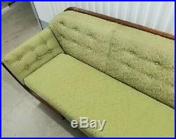 Vintage Adrian Pearsall Craft Associates Mid Century Modern Sofa Green