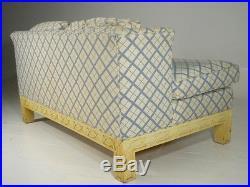 Vintage Century Wingback Settee/Love Seat Mid 20th Century Modern Parzinger Era