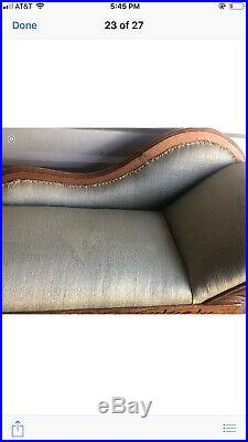 Vintage Child Size Antique Victorian Fainting Couch-Chaise Lounge Chair