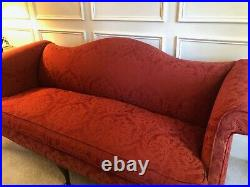 Vintage Classic Camelback sofa