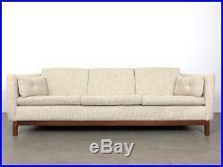 Vintage Folke Ohlsson Dux Teak Sofa Tweed Mid Century Danish Modern Rare 1960's