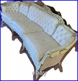Vintage French Provincial Sofa