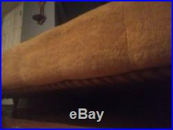 Vintage Lane Brutalist Paul Evans STYLE Mid Century Modern Sofa Set built in end