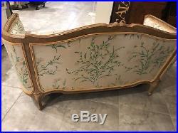 Vintage Love Seat Sofa Settee