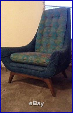 Vintage Mid Century Gondola Couch Sofa Amp Gondola High Back