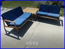 Vintage Mid Century Modern Sectional