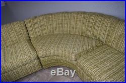 Vintage Mid-Century Modern Sectional Sofa