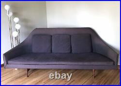 Vintage Paul McCobb Symmetric Widdicomb Sofa Couch Mid Century Modern RARE
