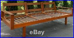 Vintage Sofa Couch Borenstein Brown Saltman Danish Mid Century Modern Modular