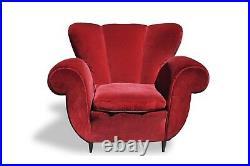 Vintage italian club armchairs 1940s Ulrich Veronesi Ico Parisi