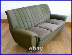 Vintage retro 3 seater sofa / settee