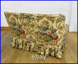 Vintage seater button back sofa settee