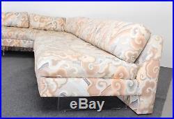 Vladimir Kagan Omnibus L Shaped Sectional Sofa, 1980