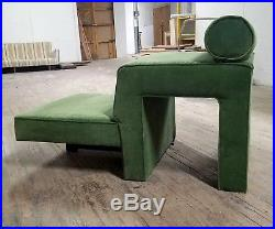 Vladimir Kagan mid century Omnibus chaise lounge