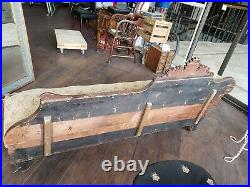 Vtg Antique Fainting Couch Sofa Chaise 5 feet 10 inches long and 22 inches wide