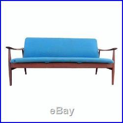 Vtg Danish Modern Teak Sofa By Finn Juhl / France U0026 Daverkosen John Stuart  MCM