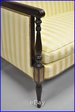 Tremendous Vtg Hickory Chair Co Mahogany Wood Gold Sheraton Federal Uwap Interior Chair Design Uwaporg
