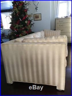 Vtg Large Mid Century Modern Sofa/ John Widdicomb T. H. Robsjohn-Gibbings Couch
