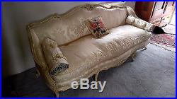 Vtg Meyer Gunther Martini New York Louis Xv Style Upholstered Sofa Settee