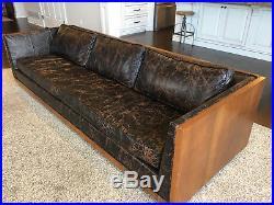 Vtg Mid Century Modern / Milo Baughman Sofa- Restoration Hardware Style