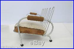 Warren McArthur Biltmore Sofa. Art Deco Industrial Designer. Eames era